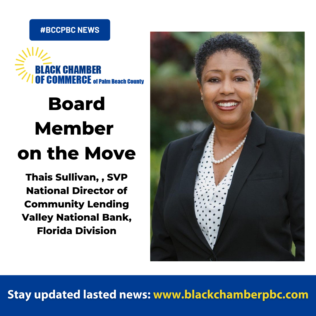 #BCCPBC Board Member on the Move // Valley appoints Thais R. Sullivan to National Director of Community Lending